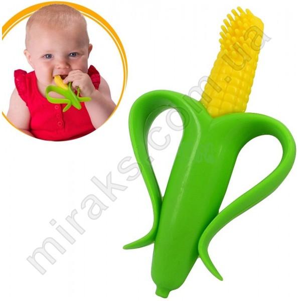 Прорезыватель для зубов МирАкс ПЗ-3647-1 (Кукуруза)