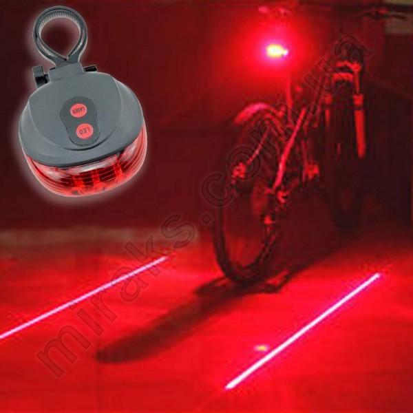 Фонарь для велосипеда МирАкс ФВ-3657-0