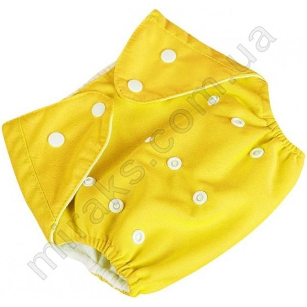 Подгузник многоразовый Qianqunui ПМ-4213 Желтый