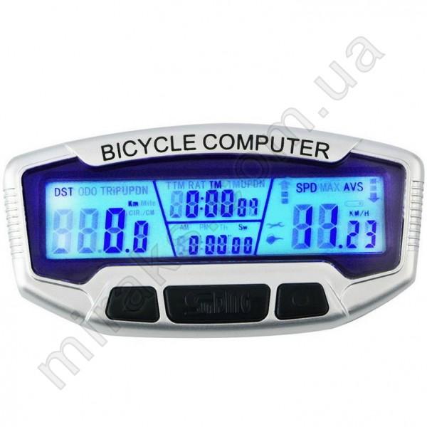 Велокомпьютер SunDING SD-558A (Проводной)