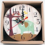 Часы настольные MirAks CK-5386 (12x12x1 см)