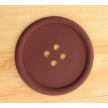 Подставка под чашку МирАкс ПЧ-3793 (Пуговица коричневая)